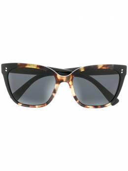 Valentino Eyewear солнцезащитные очки VA4070 в квадратной оправе