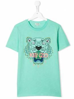 Kenzo Kids футболка с принтом KQ10658