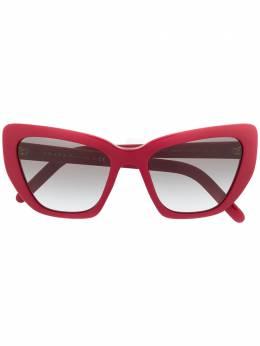 Prada Eyewear массивные солнцезащитные очки в оправе 'кошачий глаз' PR08VS