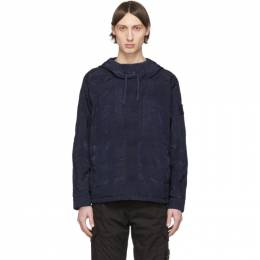Stone Island Shadow Project Navy Hooded Jacket 721940301