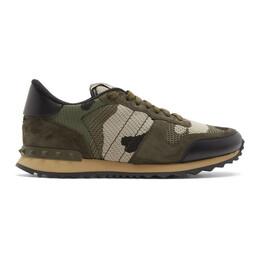 Valentino Green Valentino Garavani Rockrunner Sneakers TY2S0723QRK