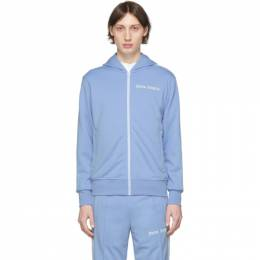Palm Angels Blue Classic Track Hoodie PMBD025R203840013101