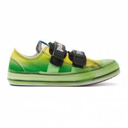 Palm Angels Green Vulcanized Sneakers PMIA034R205990014000