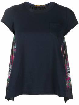 Sacai футболка с принтом 2004841