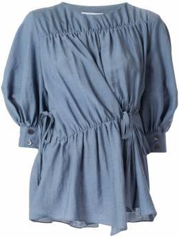Goen.J блузка со сборками GJ20RST03