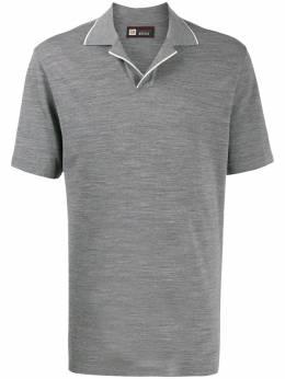 Z Zegna рубашка-поло кроя слим VU394ZZT612