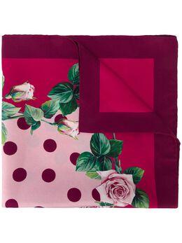 Dolce&Gabbana платок с цветочным принтом FN093RGDS15