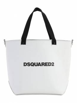 Кожаная Сумка Medium D2 Dsquared2 71I4BQ004-MTA2Mg2