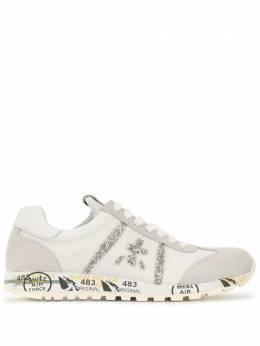Premiata кроссовки на шнуровке с блестками 4548D
