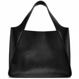 Stella McCartney Black Logo Tote 513860W8542