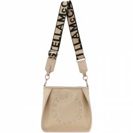 Stella McCartney Beige Mini Logo Crossbody 700073W8643
