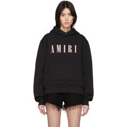 Amiri Black Logo Core Hoodie Y0M02355TE