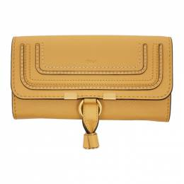 Chloe Yellow Long Marcie Wallet CHC10UP573161