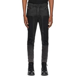 Diesel Black Denim D-Vider 0094P Jeans SEAM 0094P