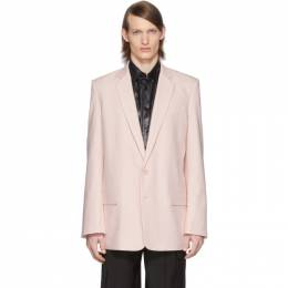 Tibi SSENSE Exclusive Pink Long Blazer R219LV8117