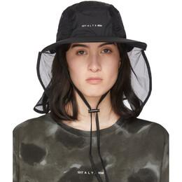 Moncler Genius 6 Moncler 1017 ALYX 9SM Black Visor Hat 00203 - 00 - 54AD3