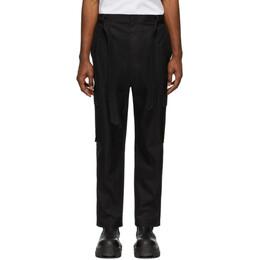 Juun.J Black Cotton Cargo Pants JC0321P525