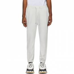 Juun.J Grey French Terry Lounge Pants JC0221P612