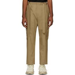 Juun.J Beige Cotton Cargo Pants JC0321P52A