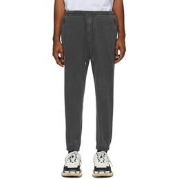 Juun.J Grey Logo Lounge Pants JC0221P614