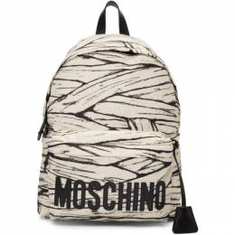 Moschino Off-White Large Mummy Backpack 7623 8220