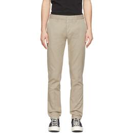 Ami Alexandre Mattiussi Tan Chino Trousers P20HT619.248