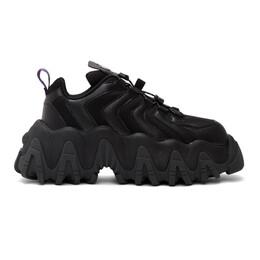 Eytys Black Suede Halo Sneakers HALB