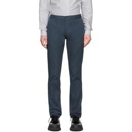 Ami Alexandre Mattiussi Blue Chino Trousers P20HT619.248