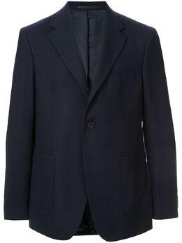 Gieves & Hawkes строгий пиджак узкого кроя G3817EM76039