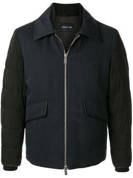 Cerruti 1881 куртка со стегаными рукавами C34J7EI020SG
