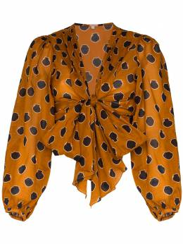 Johanna Ortiz блузка Pioneer с завязками B1193AE
