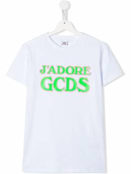 GCDS Kids футболка J'Adore GCDS 022707