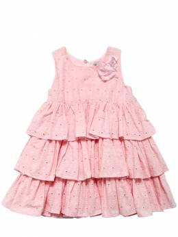 Платье Из Кружева Monnalisa 71I90A015-MDA5MA2