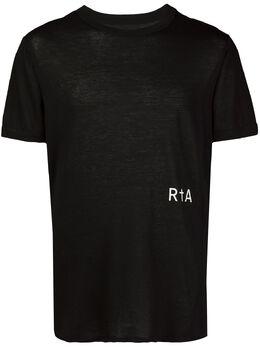 Rta футболка с круглым вырезом и логотипом MH93477121BLK
