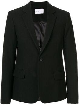 Strateas Carlucci однобортный пиджак Proto SCSS20D1MBLZ001BLK