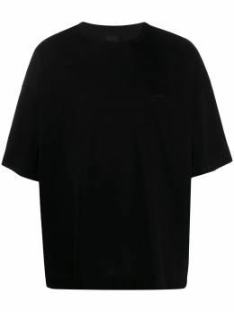 Juun.J футболка оверсайз с вышитым логотипом JC0342P035