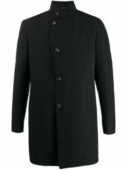 Tagliatore однобортное пальто с воротником-стойкой 88UEZ027GORDON