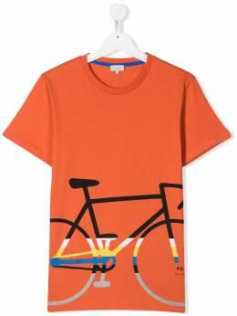 Paul Smith Junior футболка с принтом 5Q10832761