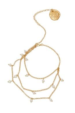 Позолоченный браслет-цепочка с перламутром Ancient Greek Sandals 537181699