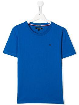 Tommy Hilfiger Junior футболка с вышитым логотипом KB0KB05437