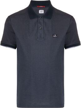 C.P. Company рубашка-поло с вышитым логотипом 08CMPL052A000973G