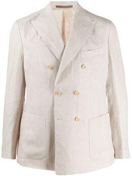 Eleventy двубортный пиджак A70GIAA06TES0A019