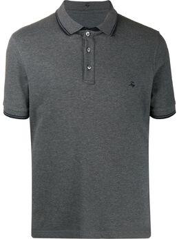 Fay рубашка-поло с вышитым логотипом NPMB240140SITOB400
