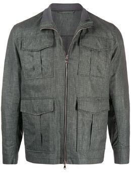 Barba куртка в ломаную клетку TONEQUADRETTO