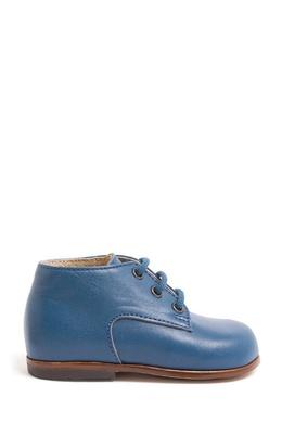 Синие кожаные ботинки Bonpoint 1210181972