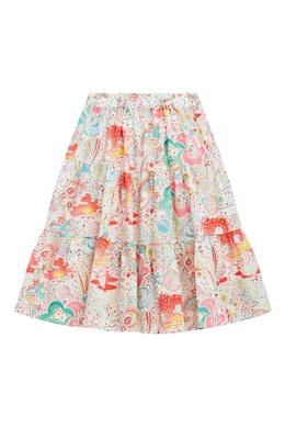 Разноцветная юбка Bonpoint 1210181971