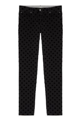 Серые джинсы в горох Stella McCartney 193181576