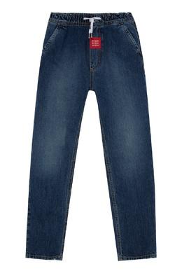 Синие джинсы на резинке MSGM 296181629