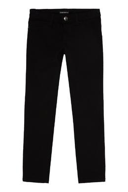 Зауженные черные джинсы Emporio Armani 2706181668