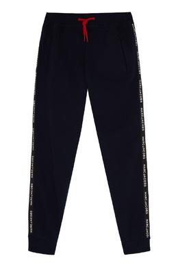 Темно-синие хлопковые брюки Little Marc Jacobs 2799181665